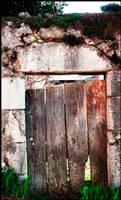 Garden gate by hipe-0
