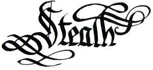 'Stealth' word by hipe-0