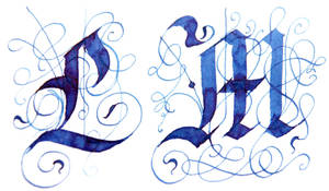 letters L and M by hipe-0
