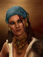 Isabela. Dragon Age by shersann