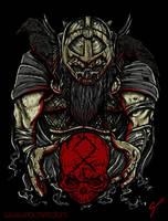 Odin Norse God by PoltArt