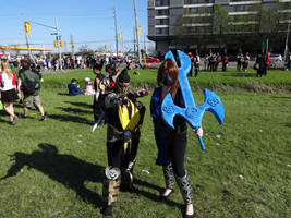 Anime North 2014 - Scorpion and Sub Zero by CallMeMrA