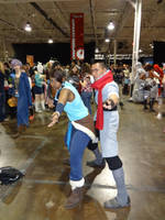 Anime North 2014 - Avatar Korra and Mako by CallMeMrA