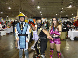 Anime North 2014 - Mortal Kombat Trio by CallMeMrA