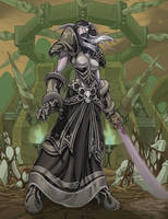 Lady Sylvanas by otherdane
