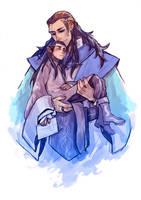 Gil-galad/Elrond by JaneDoemmmmm