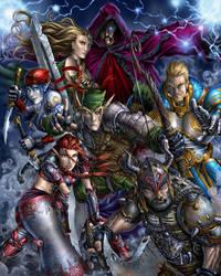 7 Swords - Painted by JBourlett