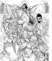 Seven Swords by AH by JBourlett