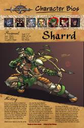 Bio page: Sharrd by JBourlett