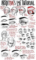 Eye Tutorial by artofpan