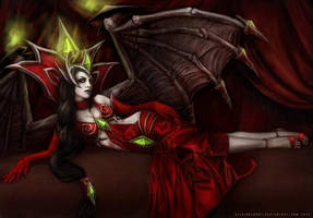 Blood-Queen Lana'thel by keisinger037
