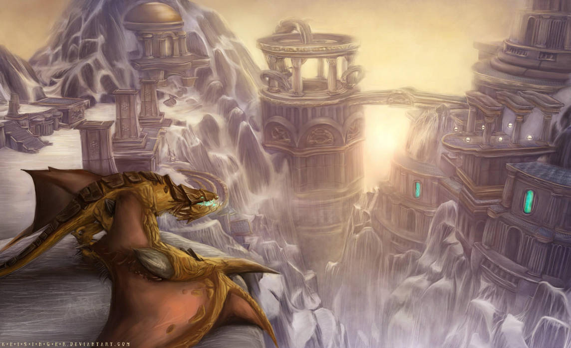 Meeting The Dawn by keisinger037