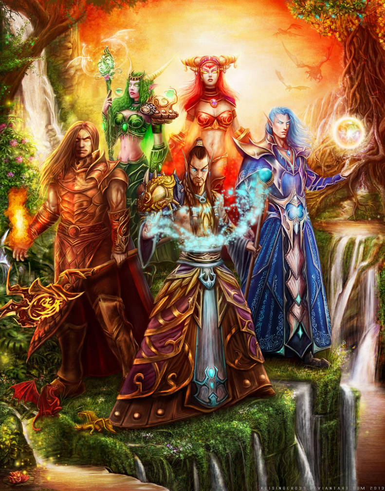 First Aspects of Azeroth by keisinger037