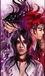 Bleach - Rukia Facing Death by keelerleah