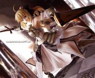 .:. Saber Lily .:. by keelerleah