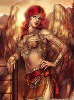 Phoenix Angel by keelerleah
