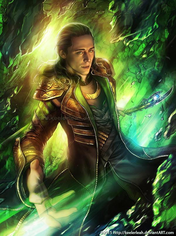 Loki Laufeyson by keelerleah