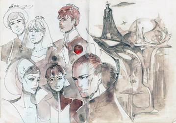 Concept sketch by SophieJinny