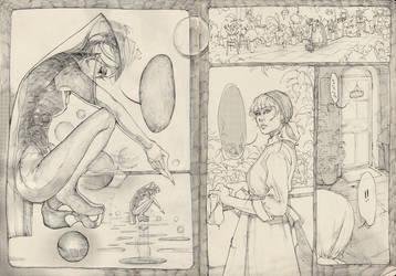 Comic plans by SophieJinny