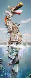 The Great Reef Serpent 1 by JoshDykgraaf