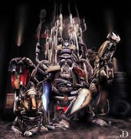 The God of Motorcycling by JoshDykgraaf
