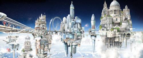 The Towers of London by JoshDykgraaf