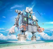 The Bitcoin Gameday Machine by JoshDykgraaf