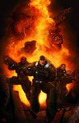 Gears of War by XabiGazte