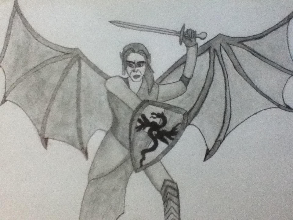 Dracula- Into Battle (Van Helsing) by ShadowVanHelsing on