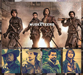 Those Hot Guys from the Musketeers Collage:) by ShadowVanHelsing