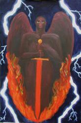 Michael - Archangel of Fire by shiftercat