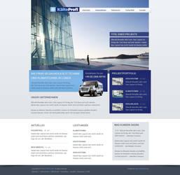 Webdesign - KaelteProfi by toupmoe