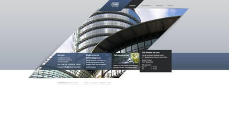 company website by toupmoe