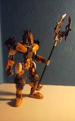 G2 Takanuva obsidian armor moc by wjones215
