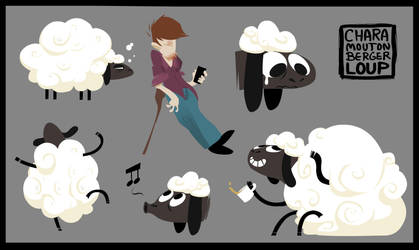 Sheep Sheepy sheep-sheep by DaveDonut