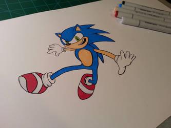 Sonic! by Skoomabandit