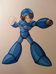 Megaman finished! by Skoomabandit