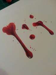 Blood Splatter! by Skoomabandit