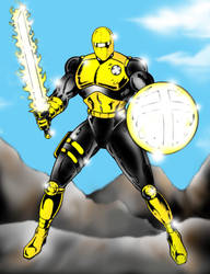 The Christian Knight - MCL I by christianknightart