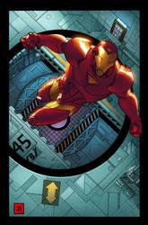 Marvel adventures- Iron-Man 1 by jamescordeiro21