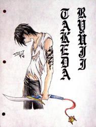 Takeda Ryuji OC by TheOtakuApprentice