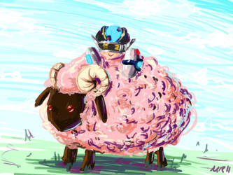 Sheephugger by applePAI