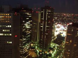 Stock: Night City Scape by AntiRetrovirus