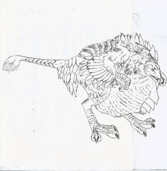 Entry 05- Cockatrice by lk666