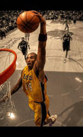 Kobe Bryant Dunk by AfroAfrican