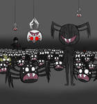 Spider army by sassykatt777