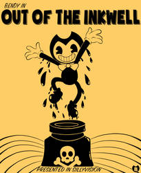 Out Of The Inkwell Bendy Poster but remade by sassykatt777