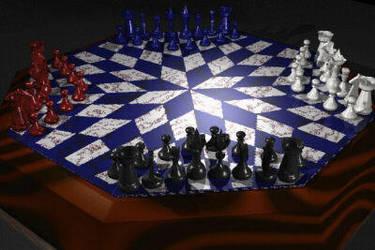 Four Way Chess by nezroy
