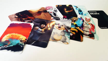 Gotta collect them all! business cards by JonnyMars