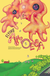 Atmospheric Beasts 2 of 3: Flying Amoeba by Petzrick